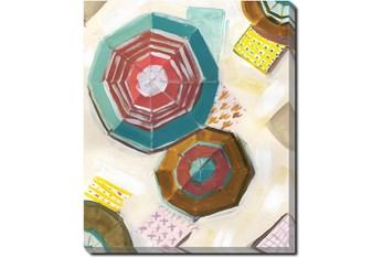 30X40 Umbrellas With Gallery Wrap Canvas