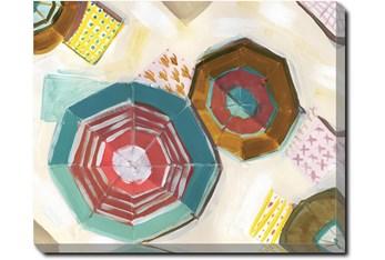 40X50 Umbrellas With Gallery Wrap Canvas