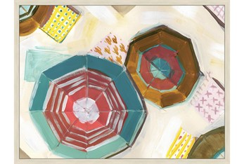 32X42 Umbrellas With Birch Frame