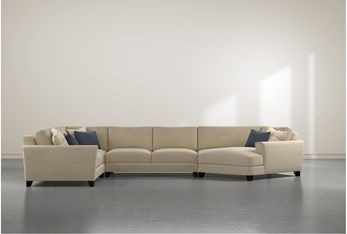 Quintont 4 Piece Sectional With Right Arm Facing Cuddler
