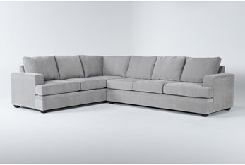 """Bonaterra Dove 127"""" 2 Piece Sectional With Right Arm Facing Sofa"""