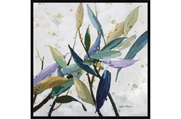 47X47 Multi Color Leaves With Black Frame