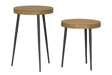 Magnolia Home Tandem Nesting Accent Tables By Joanna Gaines