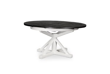 """Cintra 48"""" Round Extension Dining Table Pink"""