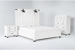 Wade California King Panel 3 Piece Bedroom Set