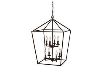 Martin 19X26 Bronze 8Lt Lantern Chandelier