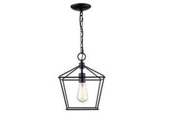 10X85.5 Black Mini Lantern Pendant