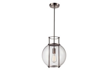 11.75X37.5 Glass Globe Pendant