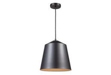 12.5X157.5 Black Dome Pendant