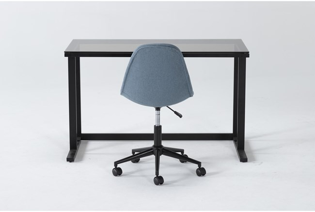 2 Piece Office Set With Studio Glass Desk + Archie Office Chair - 360