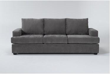 "Bonaterra Charcoal 97"" Sofa"