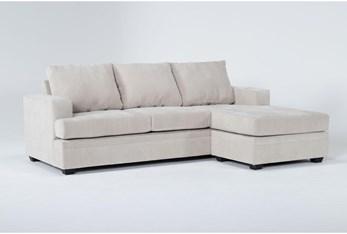 Bonaterra Sand Sofa With Reversible Chaise