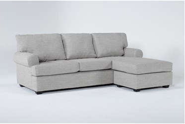 """Hampstead Dove 97"""" Sofa With Reversible Chaise"""