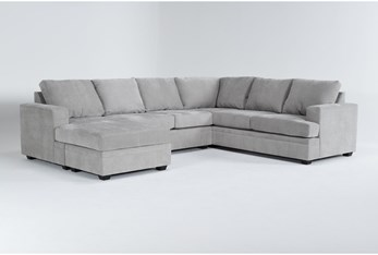 Bonaterra Dove 2 Piece Sectional With Left Arm Facing Chaise