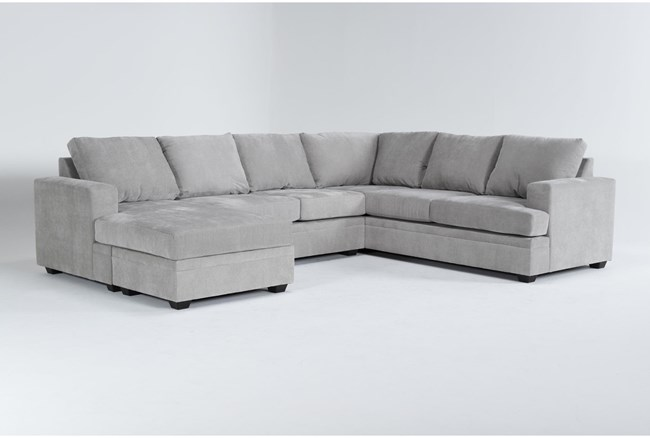 """Bonaterra Dove 127"""" 2 Piece Sectional With Left Arm Facing Chaise - 360"""