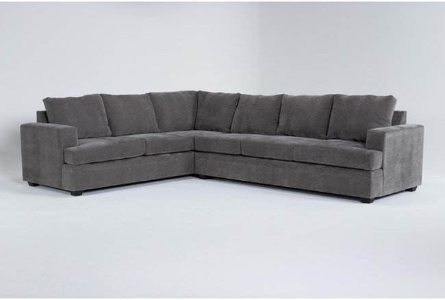 Bonaterra Charcoal 2 Piece Sectional With Right Arm Facing Sofa - 360