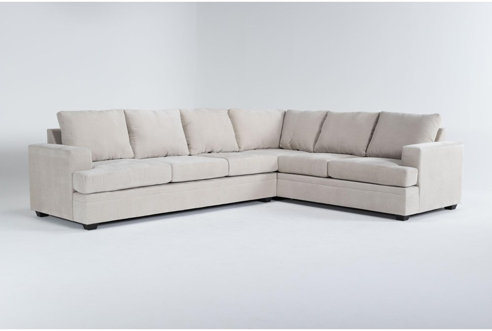 Bonaterra Sand 2 Piece Sectional With Left Arm Facing Sofa