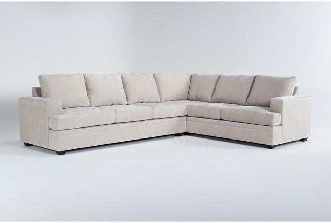 Bonaterra Sand 2 Piece Sectional With Left Arm Facing Sofa - 360