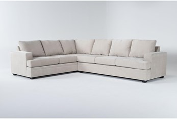 Bonaterra Sand 2 Piece Sectional With Right Arm Facing Sofa