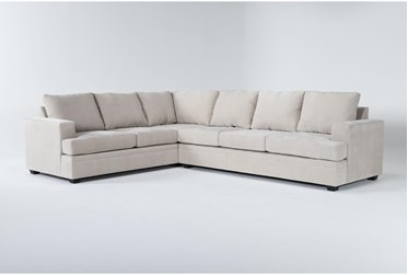 """Bonaterra Sand 127"""" 2 Piece Sectional With Right Arm Facing Sofa"""