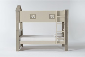 Willow Twin Over Twin House Bunk Bed