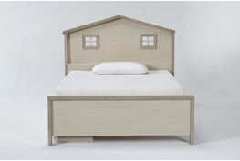 Willow Full Panel House Bed With Underbed Storage