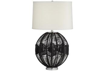 28.8 Inch Black String Table Lamp