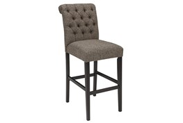 Roswell Graphite 30 Inch Bar Stool Set Of 2