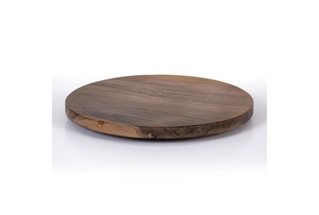 24 Inch Wood Lazy Susan - 360
