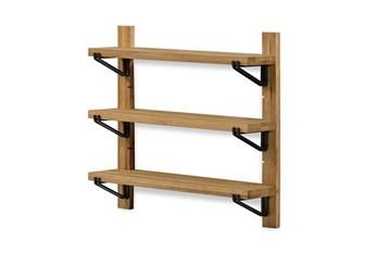 36X34 Natural Oak Shelf