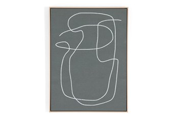 30X40 Line Abstract Ii By Dan Hobday