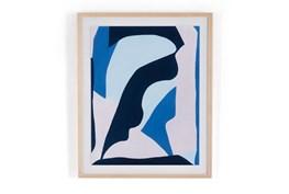 26X32 Blue No. 8 By Kelti Smith