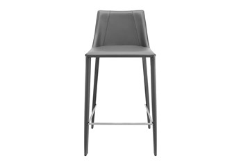 Roderick Grey 26 Inch Counter Stool