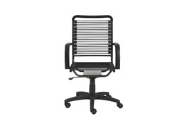 Uppsala Black And Graphite High Back Bungee Desk Chair