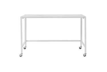 Radcliff White 48 Inch Folding Desk