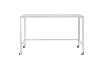 Radcliff White 48 Inch Folding Desk - Main