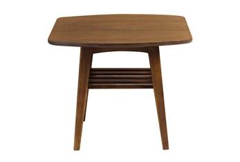 Wilcox Walnut End Table