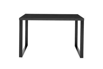 Del Mar Anthracite 47 Inch Desk With Matte Black Steel Base