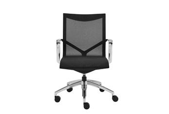 Lamkin Black Low Back Desk Chair