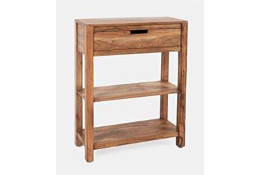 Attica Cedar Accent Table