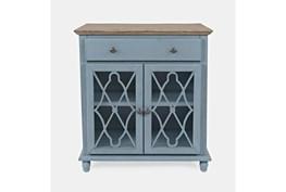 Farrington Blue 31 Inch 2 Door Accent Cabinet