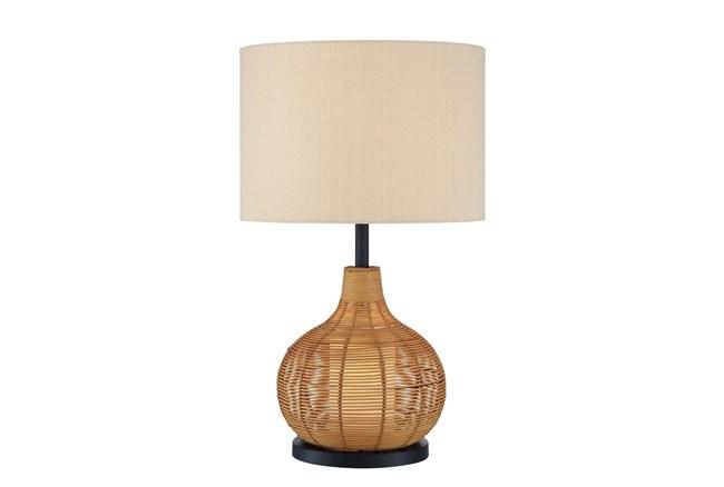 28.5 Rattan Table Lamp - 360