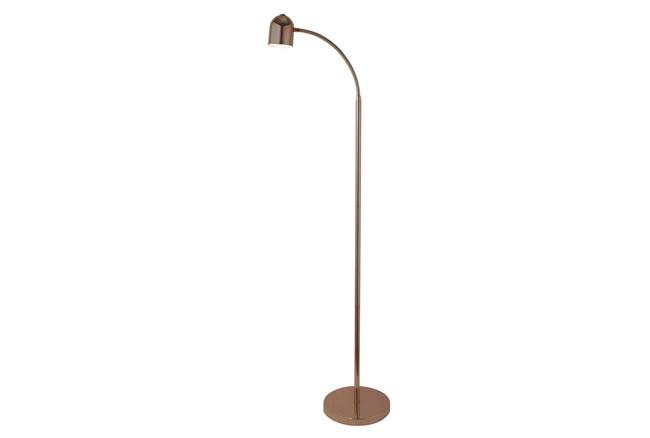 51 Inch Led Gold Lamp Task Floor Lamp  - 360