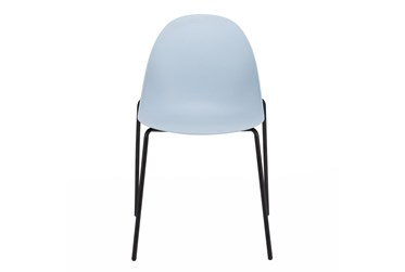 Rimmel Blue Stacking Side Chair - Set Of 2