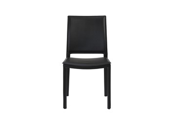 Redick Black Faux Leather Side Chair - Set Of 2