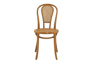 Weaver Walnut And Natural Cane Side Chair - Set Of 2