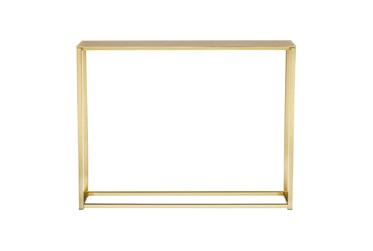 Wilken Matte Brushed Gold 48 Inch Console Table
