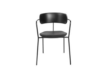 Wheller Black Stacking Armchair - Set Of 4