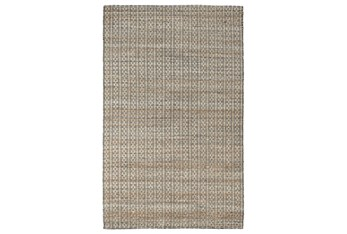 2'X3' Rug- Tribal Ivory And Natural With Border