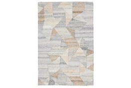 8'X10' Rug- Tribal Ivory And Natural With Border
